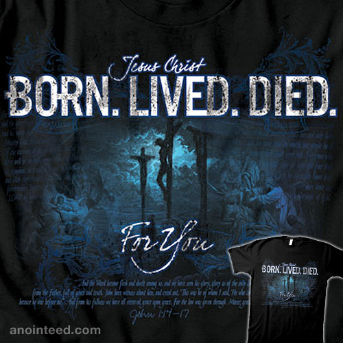 Born. Lived. Died.
