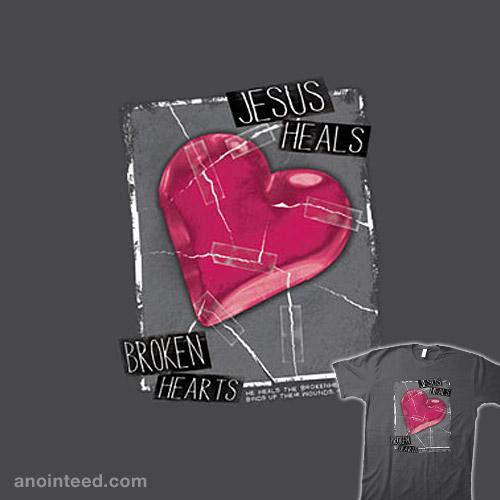 Jesus Heals Broken Hearts