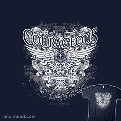Courageous Winged Crest