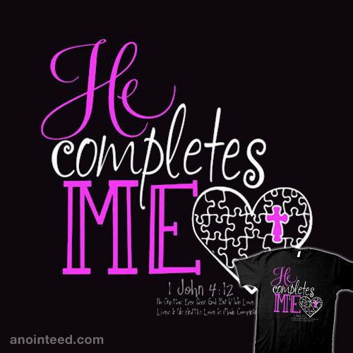 He Completes Me