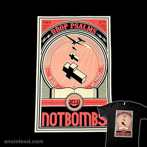 Drop Psalms Not Bombs