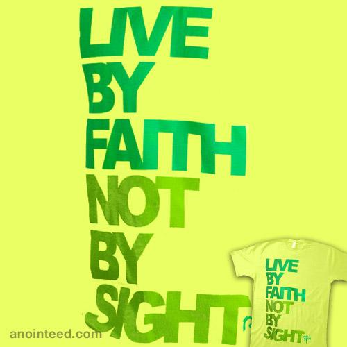 Faith vs. Sight