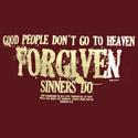Forgiven Sinners