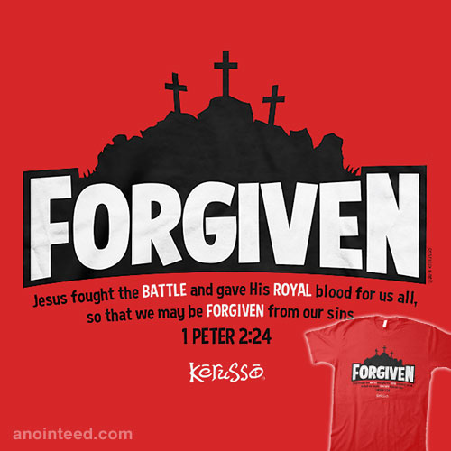 Forgiven, Jesus Fought the Battle
